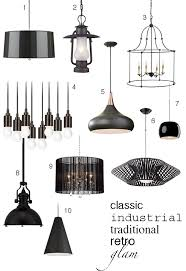 Black Pendant Light 6 Ways To Work Black Pendant Lights Into Your Kitchen Decor