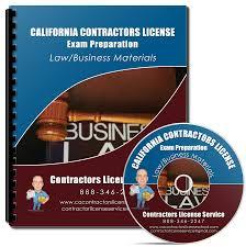 law business contractors exam study kit california contractor