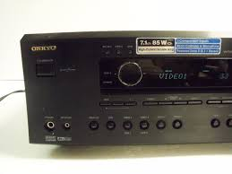 av receiver home theater onkyo tx sr602 high performance 7 1 channel home theater av