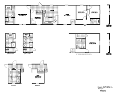 Karsten Floor Plans by 5 Bedroom Manufactured Homes Single Wide Mobile Home Floor Plans
