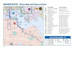 Dc Metro Blue Line Map by Route Maps Charm City Circulator