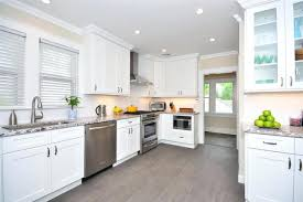 Transitional Style - transitional style kitchen cabinets dark white shaker subscribed