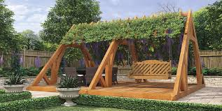 swing arbor plans arbor design plans best way to use garden swings arbors and pergolas