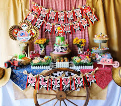 cute farm party baby shower ideas themes games