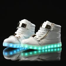 light up shoes gold high top kids adidas light up shoes gold white sneaker clearance