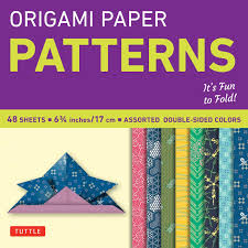 amazon com origami paper patterns small 6 3 4