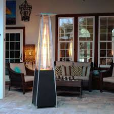 Pyramid Gas Patio Heater Golden Flame Resort Glass Tube Pyramid Patio Heater Better