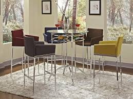 glass pub table and chairs glass pub tables bistro sets youll love wayfair with regard to bar