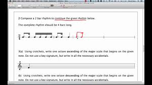writing a theory paper abrsm music theory grade 1 question 2 practice compose a abrsm music theory grade 1 question 2 practice compose a rhythm