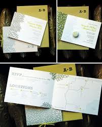 wedding booklets amanda braydan modern diy wedding invitation booklets