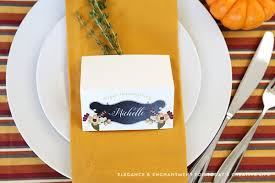 Thanksgiving Cards To Make At Home Free Printable Thanksgiving Place Cards Today U0027s Creative Life