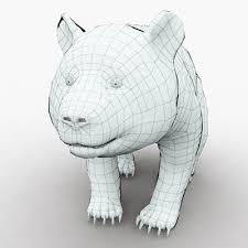 3d model baby panda 99 95 buy download