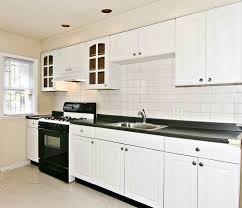 Galley Kitchen White Cabinets Granite Countertop Kitchen Galley Normabudden Com