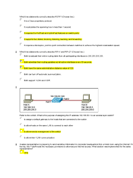 ccna 3 discovery 4 0 final exam computer network router