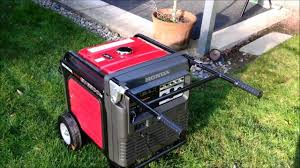 quiet honda eu6500is generator review and whole house backfeed