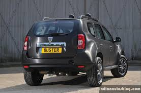 renault dacia renault dacia duster black edition rear indian autos blog