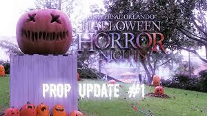 halloween horror nights 27 prop update 1 youtube