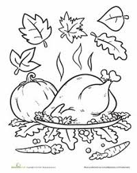 color the cornucopia worksheets thanksgiving and kindergarten