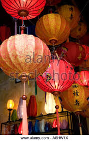 new year lanterns for sale paper lanterns for sale on small soi in chinatown bangkok