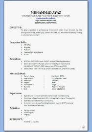 resume format for fresher download pdf best resume formats 47