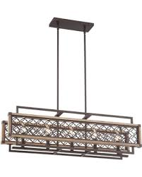 Rectangular Chandelier Bronze Fall Into These Pre Black Friday Savings Vickary Rustic Bronze