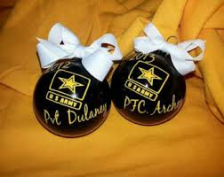 army ornaments etsy
