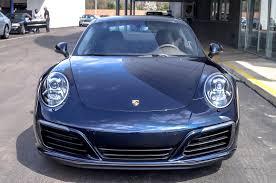 porsche blue dealer inventory 2017 911 carrera night blue on saddle brown