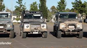 military land rover land rover defender event in military training area day1 youtube