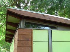 Backyard Office Prefab by Shed Plans For The Md100 Modern Shed Guest House From Readymade
