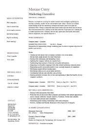 Resume Sample Resume Marketing Manager by Resume Samples For Sales And Marketing U2013 Topshoppingnetwork Com