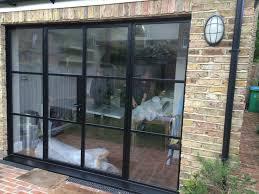 Double Glass Door by Double Glazed Steel Door Screen To Twickenham Double Glazed