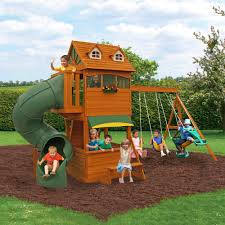 Metal Playsets Garden Non Wood Swing Sets Swings For Swingset Lowes Playsets