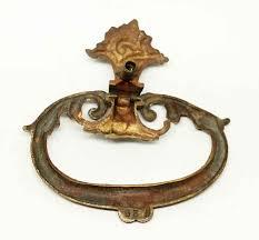 victorian bronze decorative door knocker olde good things