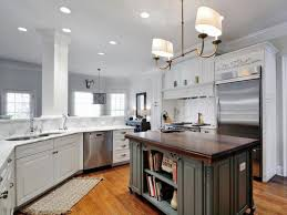 simple but elegant look from painting kitchen cabinets designs
