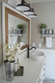 farmhouse bathroom lighting ideas top 41 wonderful farmhouse bathroom pictures chrome vanity light