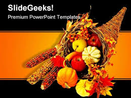 happy thanksgiving religion powerpoint template 0610 powerpoint themes