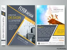 flyer graphic design layout brochure flyer design layout template ai ianswer