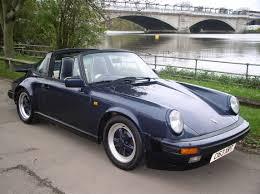 porsche targa 1995 classic chrome porsche 911 carrera 3 2 sport targa 1985 c blue