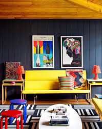 suitable and colorful interior design ideas for main rooms