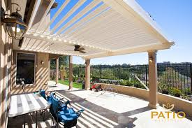 Equinox Louvered Roof Cost by Apollo Opening Louvered Patio Cover Patio Warehouse Inc