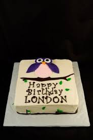 owl cake super cute and easy ish looking a u0027s 7th b u0027day