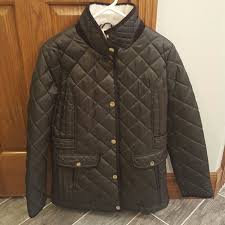 Plus Size Quilted Barn Jacket 79 Off Nautica Jackets U0026 Blazers Nautica Olive Green Quilted