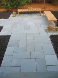 Large Pavers For Patio by Courtyard Paving Old Grey Oakham Pattern Patio Pack House