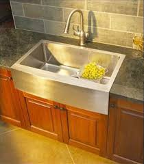 Stainless Steel Farm Sinks For Kitchens Flush Mount Apron Farmers Sink Kitchens Forum Gardenweb