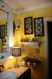 Yellow Bathroom Decorating Ideas Cool Yellow Bathroom Decor Excellent Ideas House Decorations