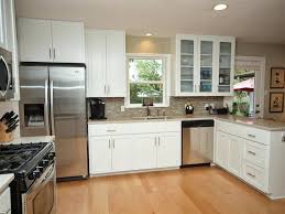 White Kitchen Cabinets With Glass Doors Kitchen Cabinets With Glass Doors Snaphaven