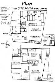 plan d une cuisine de restaurant house chalet in valmeinier st michel de maurienne galibier les