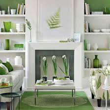 home decorating co green and white living room living room decorating ideal home