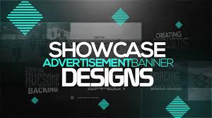 Showcase Design Photoshop Tutorial Creating Showcase Ad Banner Designs Youtube