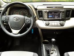 toyota 2015 review 2015 toyota rav4 xle awd driving towards the top of the
